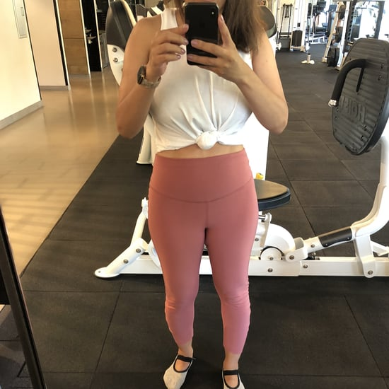 Old Navy Ruched Workout Leggings For Petites | Editor Review