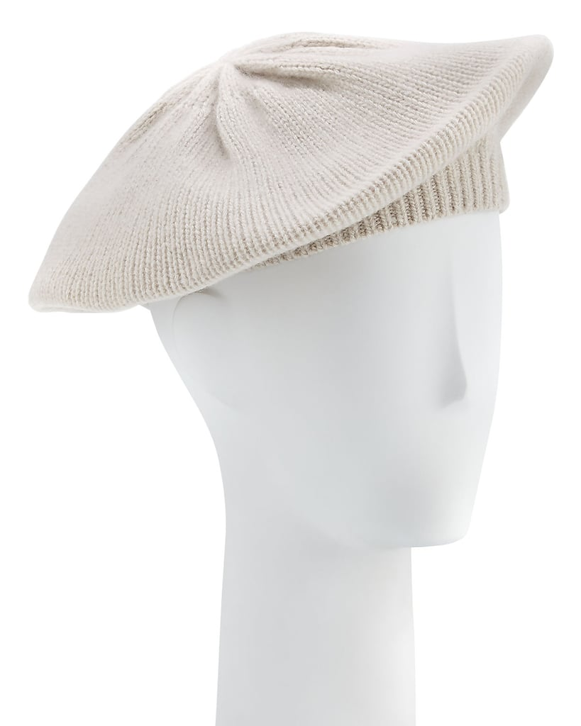 Portolano Knit Cashmere Beret  2bbeefb596d