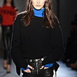 Bella Hadid Walking the Zagdig & Voltaire Runway During NYFW in 2017