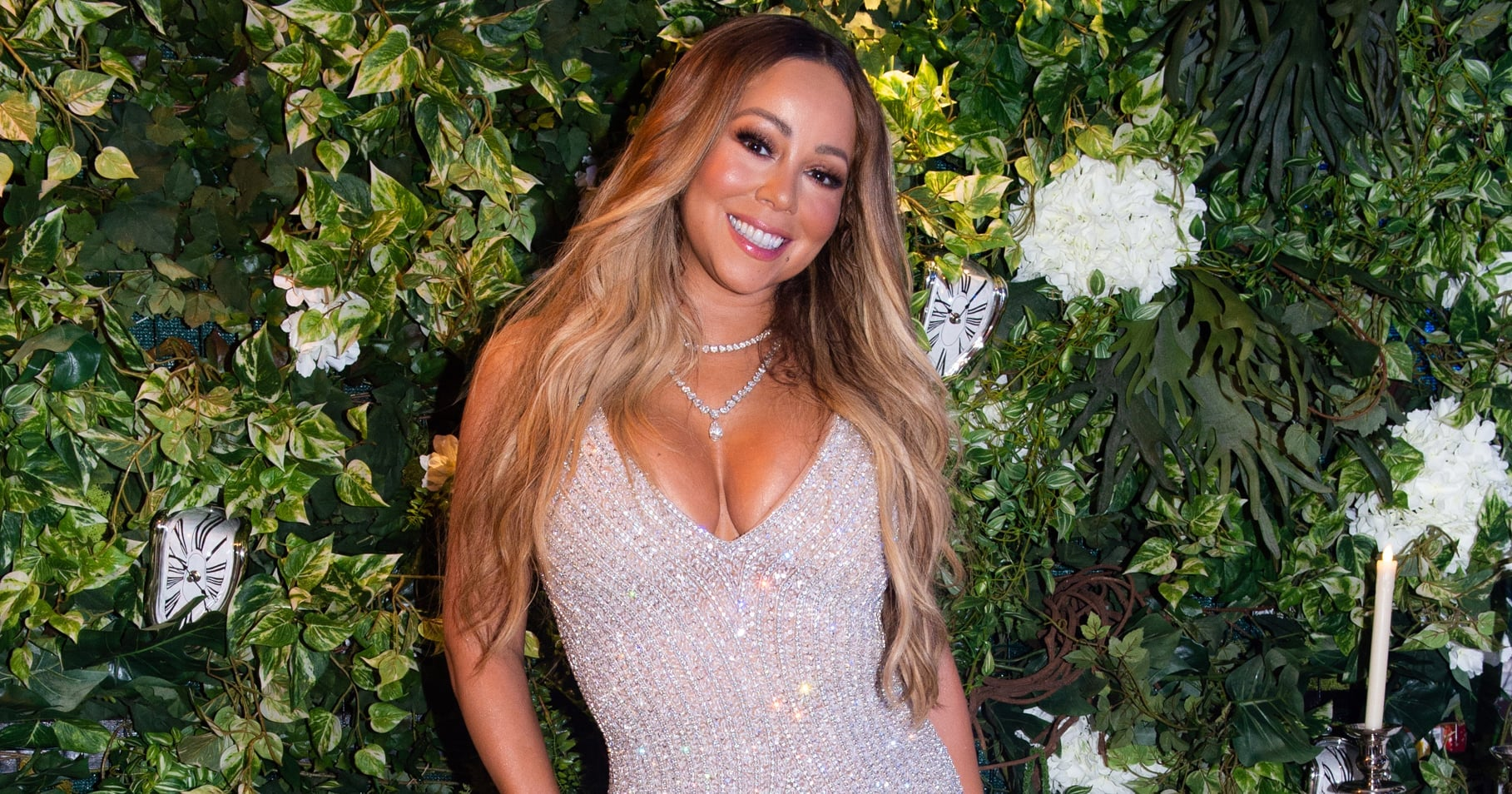 """Mariah Carey Hangs Out With Bill and Hillary Clinton: """"Thank You For Everything"""""""