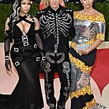 Nicki Minaj, Jeremy Scott, and Demi Lovato — 2016