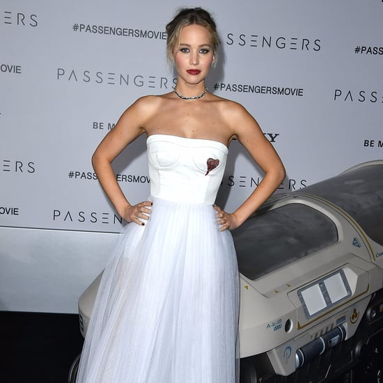 Jennifer Lawrence at Passengers LA Premiere 2016