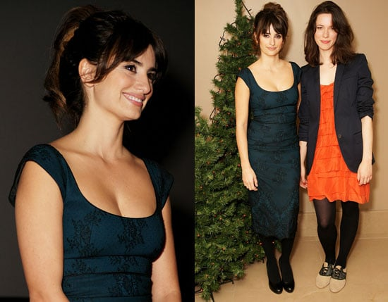 Photos of Penelope Cruz at a Screening of Vicky Cristina Barcelona in London
