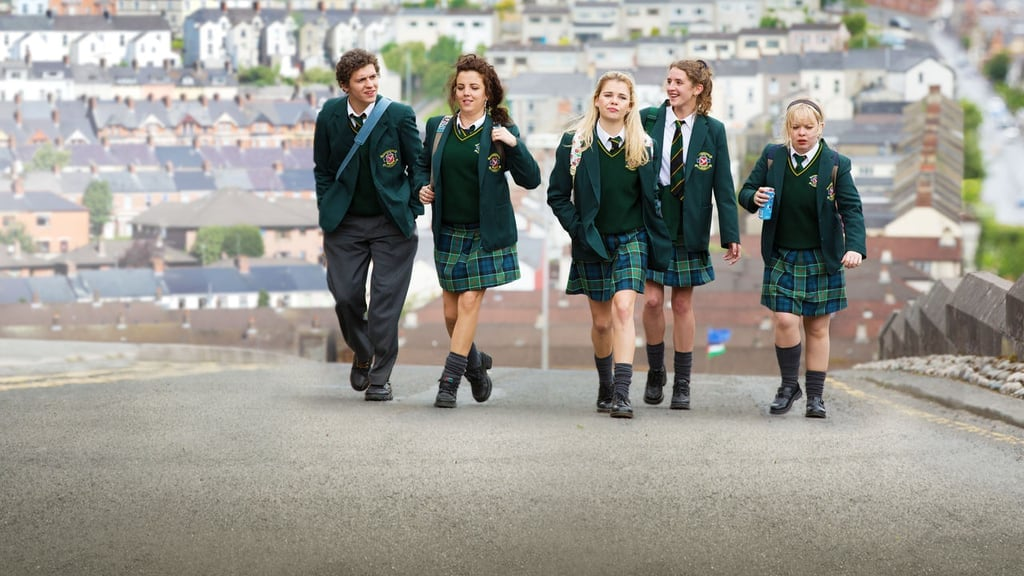 James, Michelle, Erin, Orla, and Clare From Derry Girls