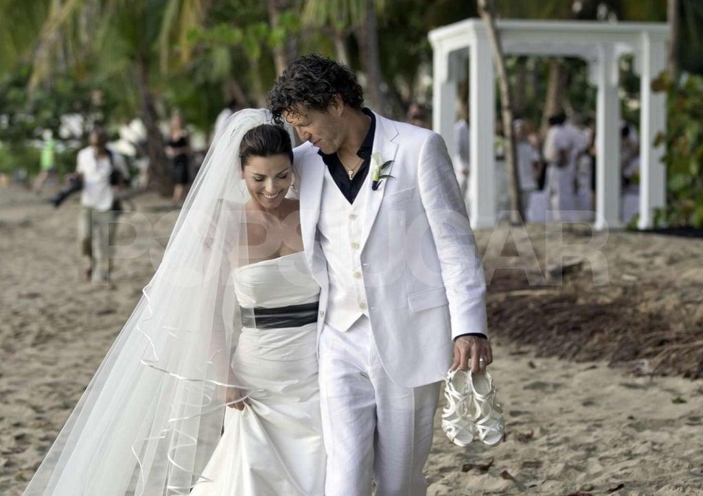 Pictures of Shania Twain and Frédéric Thiébaud's Wedding