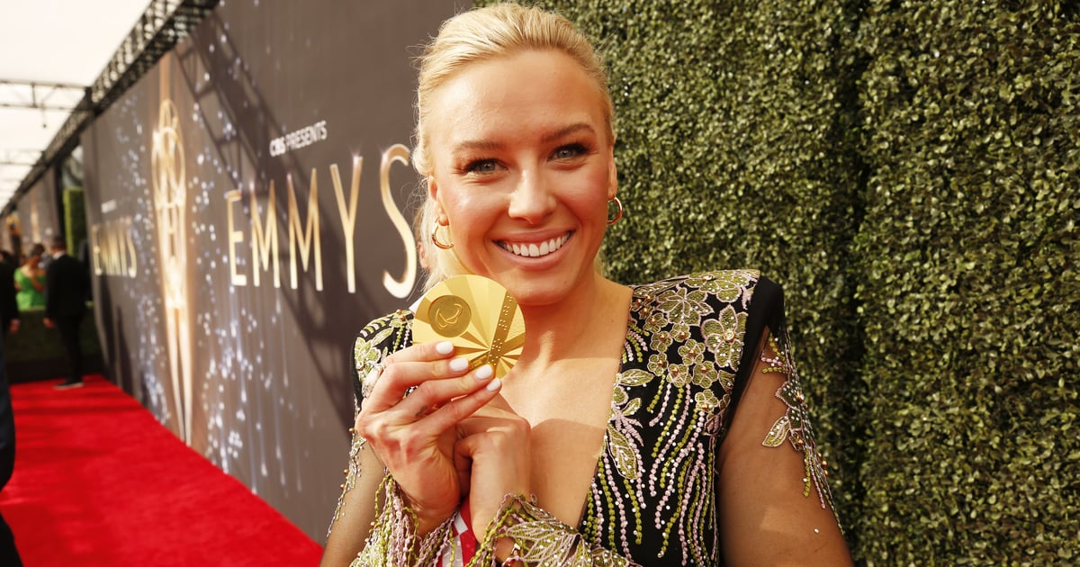 Paralympian Jessica Long Had the Brightest Accessory at the Emmys: Her Tokyo Gold Medal.jpg