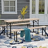 Baumgarten Folding 3 Pieces Dining Set