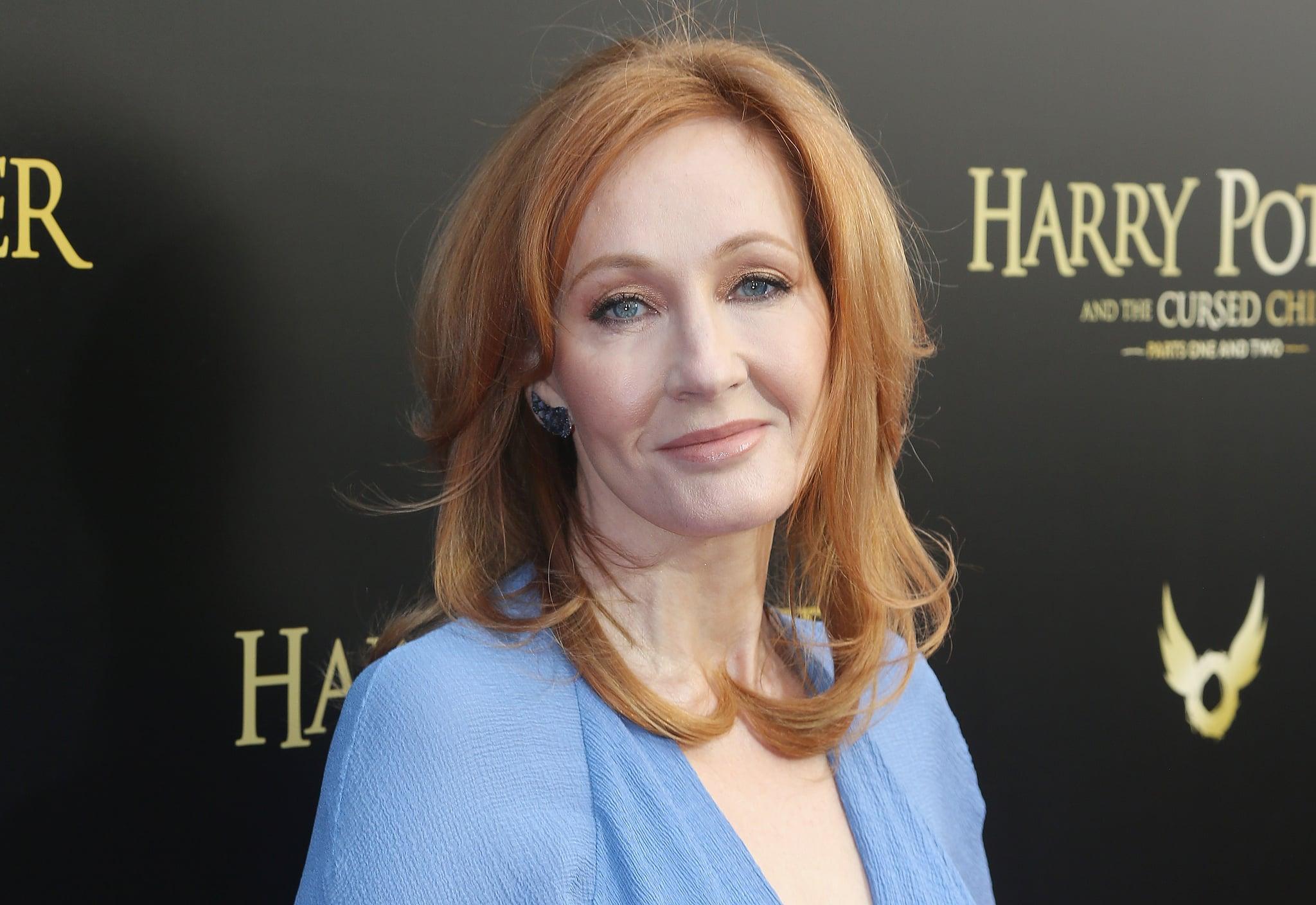 NEW YORK, NY - APRIL 22:  J.K. Rowling poses at