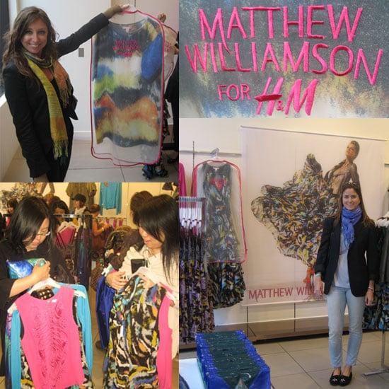 Matthew Williamson For H&M Burns Through Foggy San Fran
