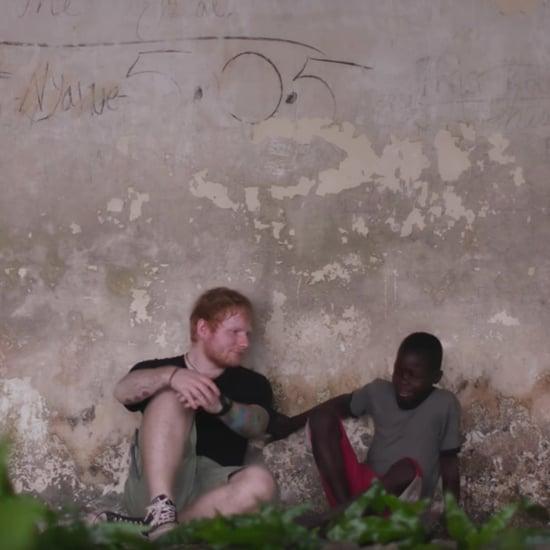 إد شيران يساعد أطفال ليبيريا 2017 يوم الأنف الأحمر