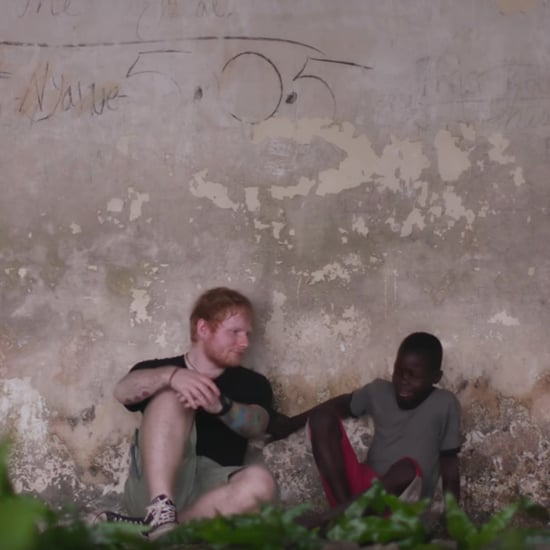 Ed Sheeran Helps Boys in Liberia For Red Nose Day 2017