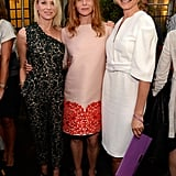 Naomi Watts and Cameron Diaz took a photo with the designer.