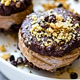 Flourless Double Chocolate Nut Cookie Sandwiches