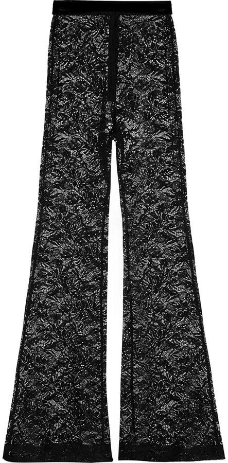 Balmain Lace Flared Pants ($2,785)