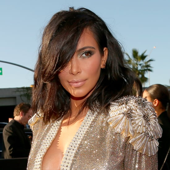 Kim Kardashian Short Hair 2015