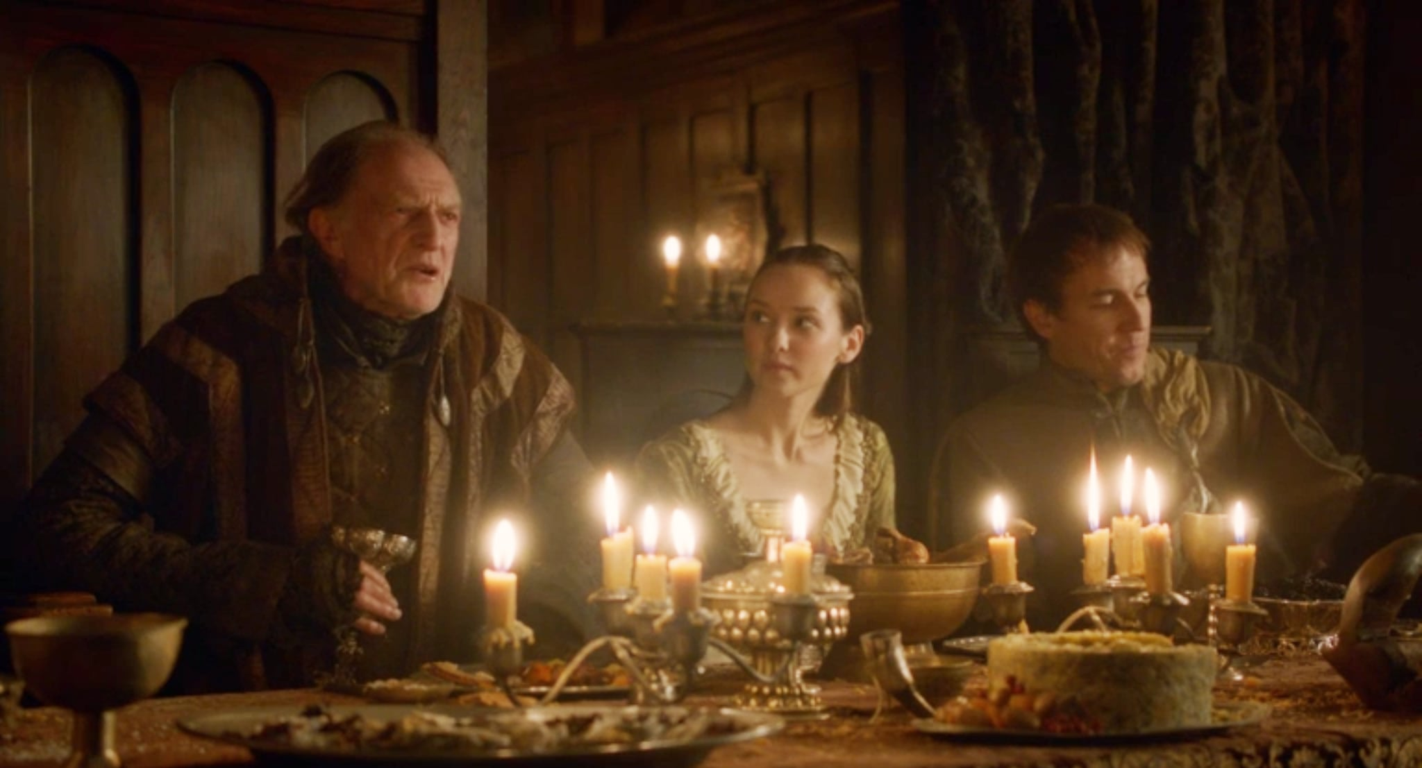 When Is The Red Wedding.Walder Sitting Next To A Terrified Young Bride At The Red