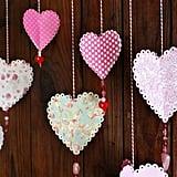 3D Paper Hearts
