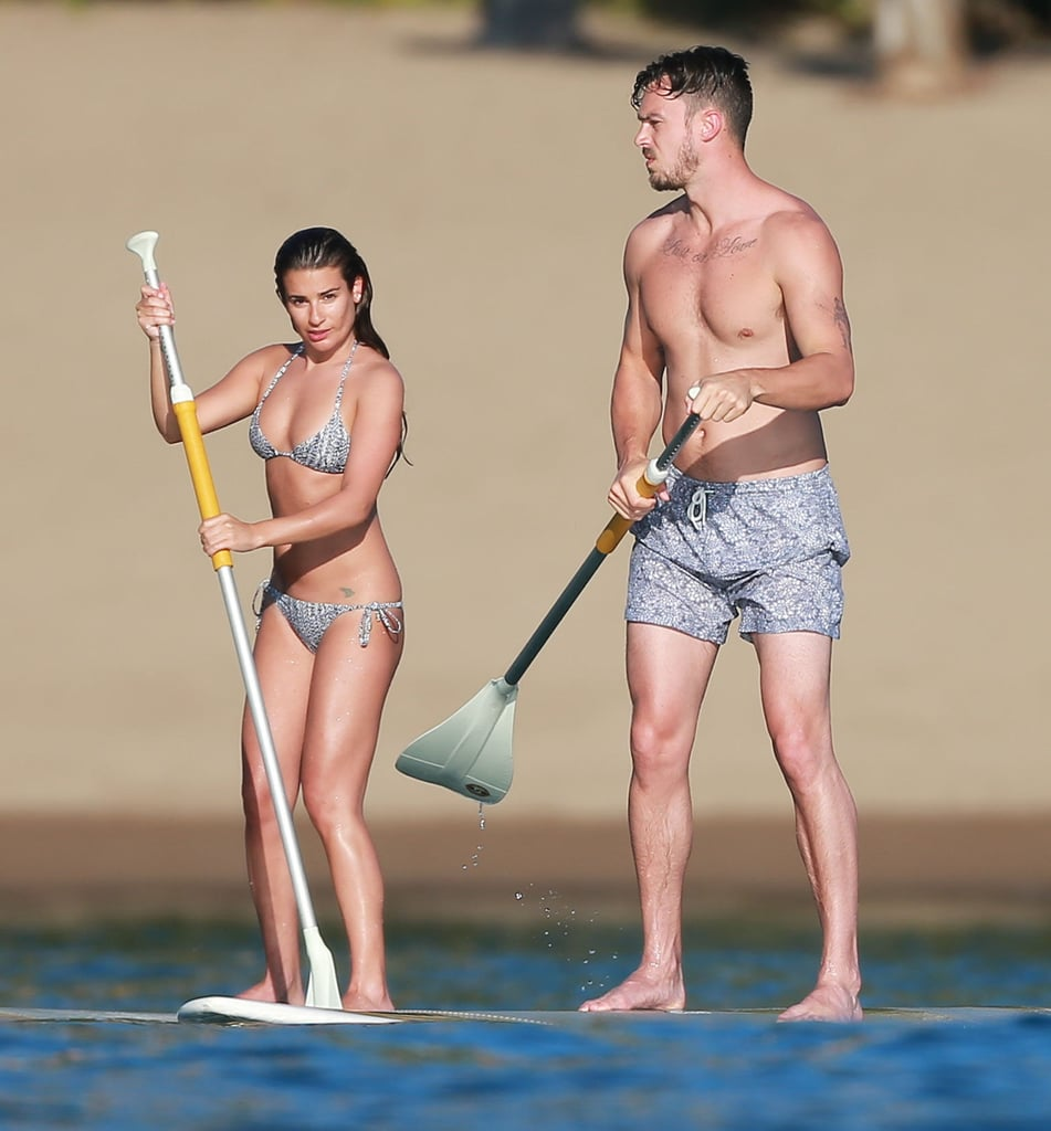 Lea Michele and Matthew Paetz in Mexico