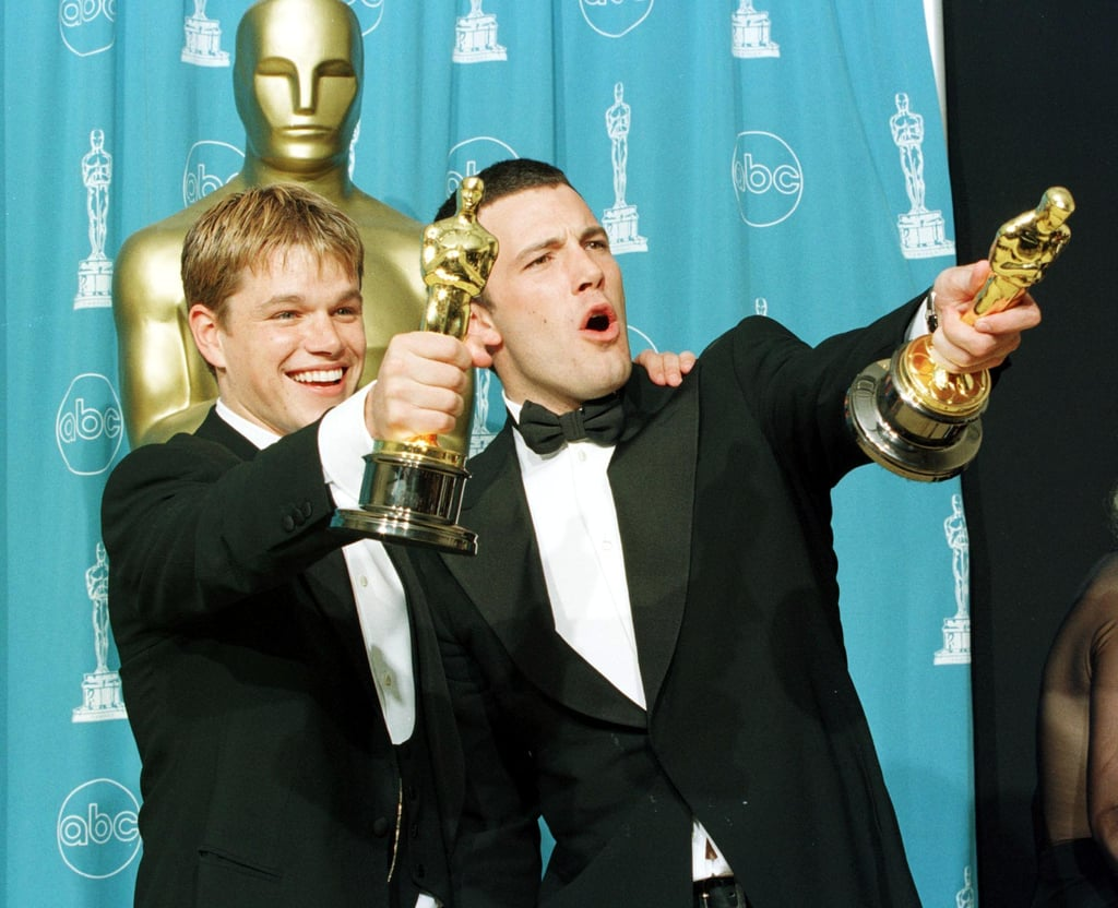 matt damon and ben affleck reflect on good will hunting popsugar matt damon and ben affleck reflect on good will hunting celebrity