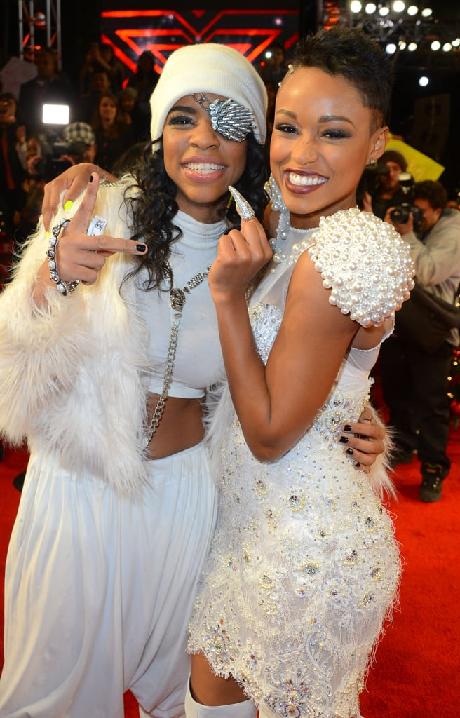 Paige Thomas posed with Lyric Da Queen.