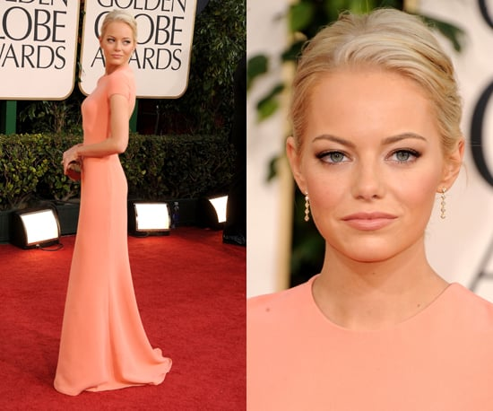 Emma Stone at 2011 Golden Globe Awards 2011-01-16 17:37:26