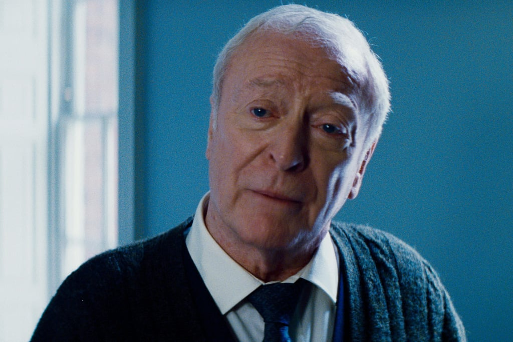 Michael Caine in The Dark Knight Rises.