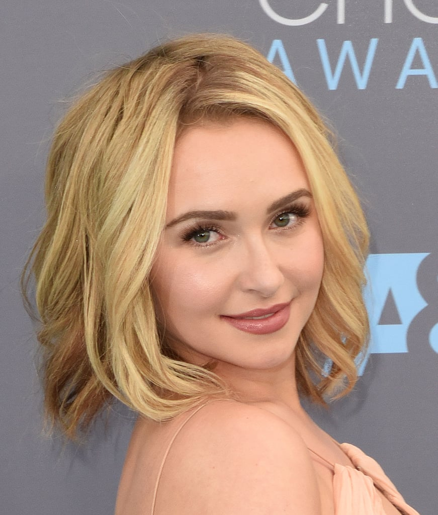 Hayden Panettiere Blonde Bob And Lob Hairstyle Inspiration