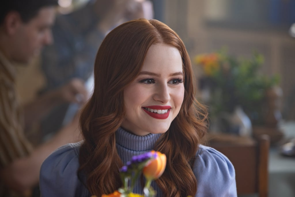 "When it comes to fashion on Riverdale, Cheryl Blossom is the HBIC. While Veronica is super chic and Betty is totally preppy, we always go crazy for Cheryl's killer looks. Seriously, her choker necklaces are iconic! Though Cheryl has a soft spot for cherry-red outfits, this season we've seen her play a little bit more with colours.  In fact, one of Madelaine Petsch's favourite looks from this season is actually a pink ensemble. When we spoke with the Riverdale actress about her new M3 sunglasses collection at Privé Revaux on May 9, she teased Cheryl's season three finale look. ""I wear the cutest Miu Miu top,"" she explained. ""It's almost a see-through pink with red detail and a red tie around my neck and then a really cute red skirt, naturally. I just love the outfit. It is so cute.""  While Petsch tends to go for green and royal colours herself, she admitted that she does love to give a little nod to her character every once in a while with her outfits. ""I always like to throw a little dash of red in everything I do just because it is a little homage to my girl,"" she said. Hence her new red Monroe sunglasses, which she added would ""of course"" be Cheryl's favourite. The Monroe sunglasses, along with the Mads and Matrix, are part of Madelaine's second collection with the brand and will be available for purchase on May 27. In the meantime, see more of Cheryl's best outfits from season three ahead!       Related:                                                                                                           Whether You're Friends With Betty or Veronica, We Have the Perfect Gift For Her"