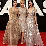 2015: Lisa Origliasso, Kylie Minogue and Jess Origliasso