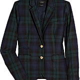 J.Crew Blackwatch Plaid Blazer ($230)