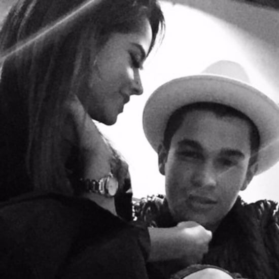 Becky G and Austin Mahone Shirtless PDA