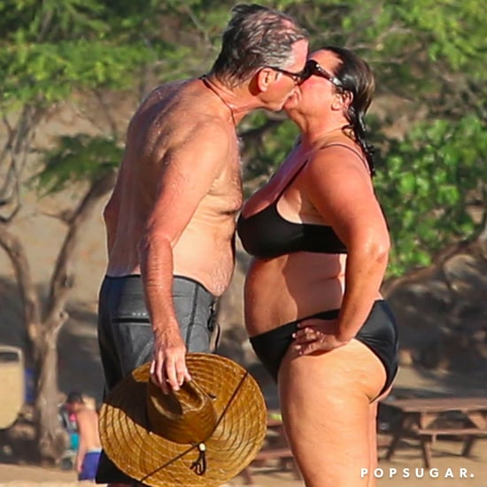 Pierce Brosnan and Wife in Hawaii May 2017