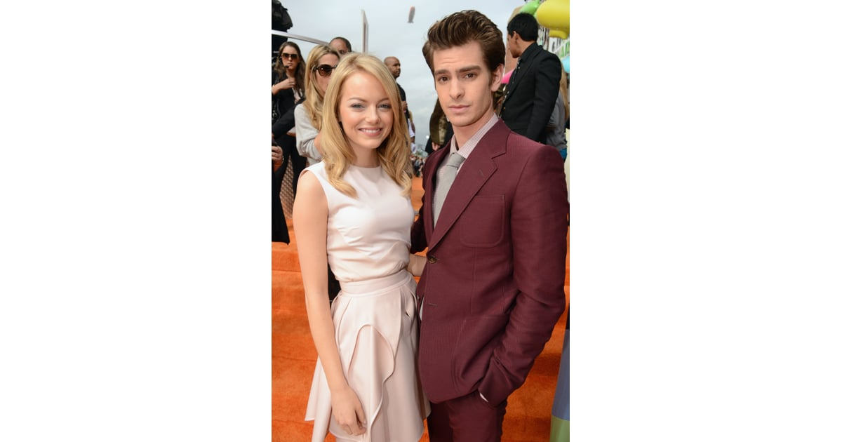 Emma Stone and Andrew Garfield Pictures Kids' Choice ...