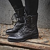 Combat Boots at Fashion Week Fall 2018