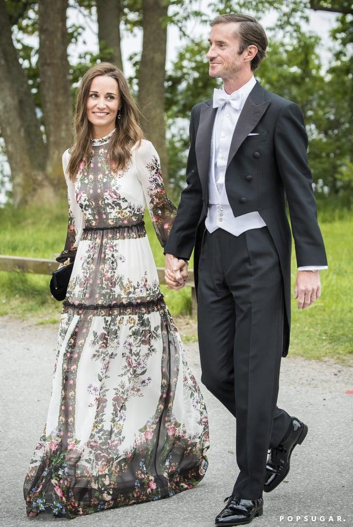Pippa Middleton Erdem Wedding Guest Dress Popsugar Fashion Photo 2
