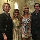 Kathleen Finch, Alison Victoria, Christine el Moussa, and Tarek el Moussa