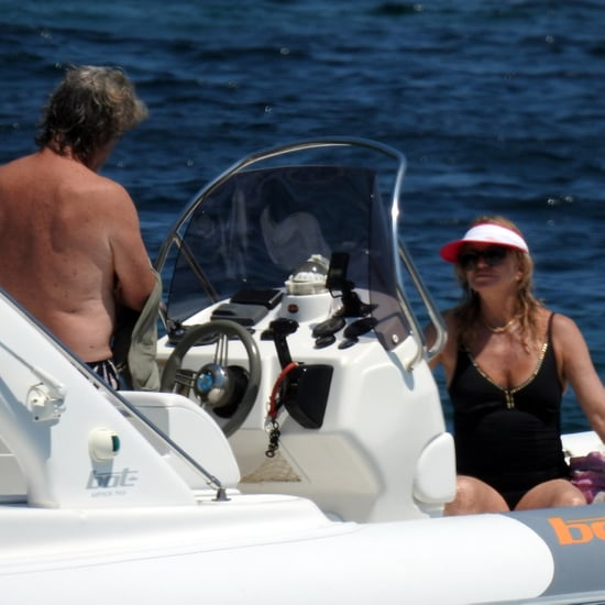 Kurt Russell and Goldie Hawn in Greece Pictures June 2017