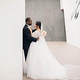 Wedding at an Art Museum