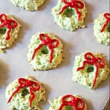 Christmas Wreath Coconut Macaroons