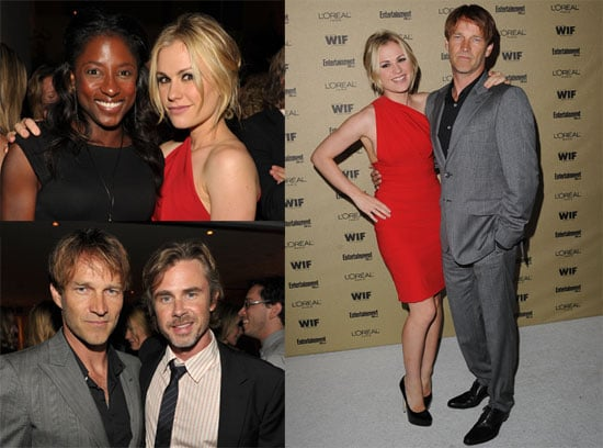 Pictures of True Blood's Anna Paquin and Stephen Moyer at a Pre-Emmy Bash 2010-08-29 12:13:23