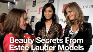 Estée Lauder Models Reveal Their Top Beauty Tips