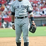 When He Wore the New York Yankees Uniform