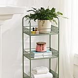 Urban Outfitters Langley Metal Rolling Storage Cart