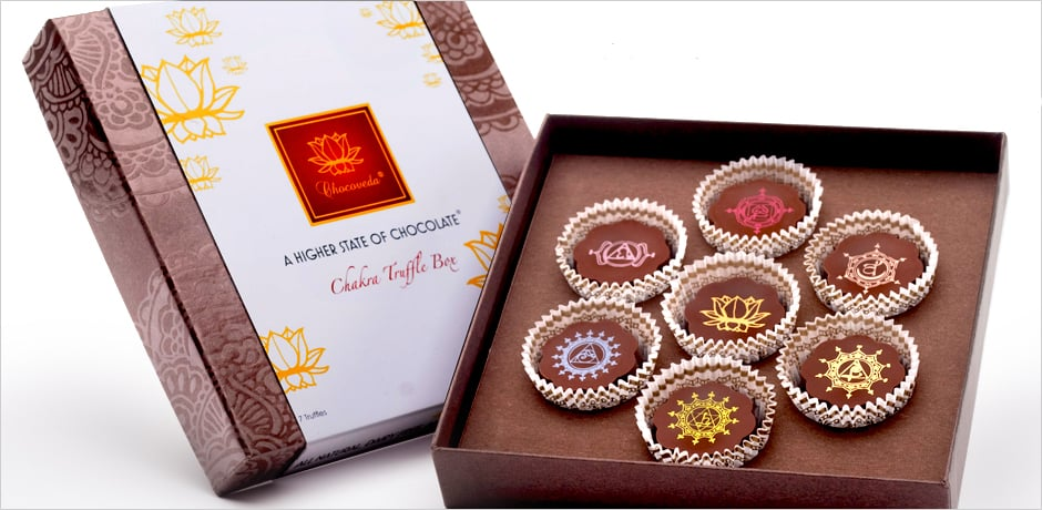 Vegan Chakra Chocolate Box