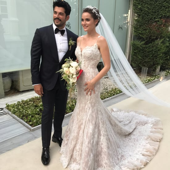 Burak Ozcivit and Fahriye Evcen Istanbul Wedding Pictures