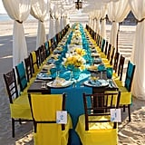 1. Contrasting Linens