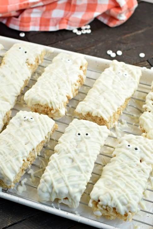 Mummy Rice Krispies Treats
