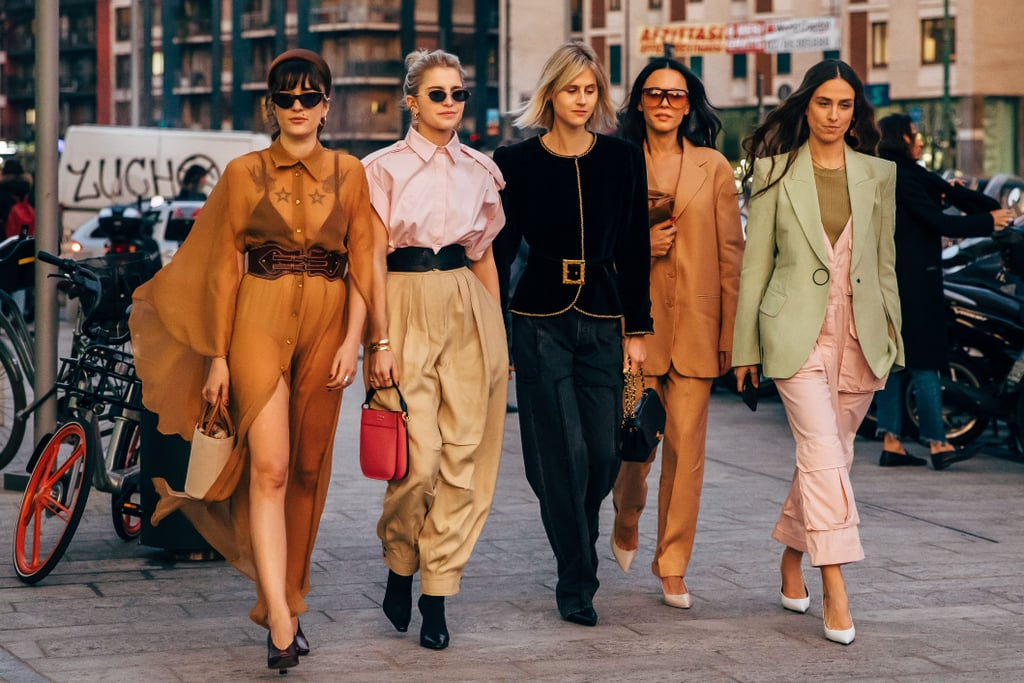 c6d1f3d0bc8f Milan Fashion Week Street Style Fall 2019 | POPSUGAR Fashion Australia