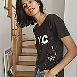 Chaser NYC Paint Splattered Graphic Tee