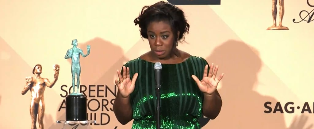 Uzo Aduba Shares Advice From Her Mom, Melts Hearts Everywhere